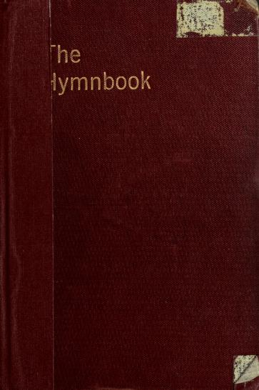 The hymnbook by Presbyterian Church in the U.S.